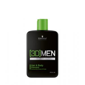 (3D) Hair & Body Shampoo 250ml